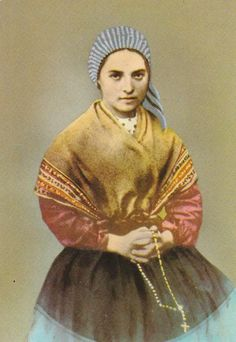 Saint Bernadette | Postcard - Saint Bernadette of Lourdes