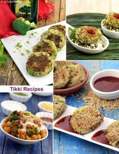 60 Tikki Recipes, Collection of Tikki Recipes Veg Recipes, Indian Food Recipes, Real Food Recipes, Vegetarian Recipes, Cooking Recipes, Healthy Recipes, Snack Recipes, Recipies, Arabic Recipes