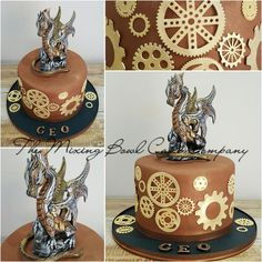 Steampunk ! by The Mixing Bowl Cake Company