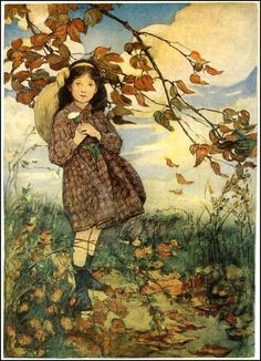 from A Child's Garden of Verses illustration by Jessie Willcox Smith