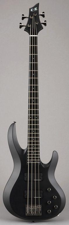 ESP E-2 BTL-STD 4 Bass Guitar Black