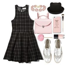 """""""Untitled #1042"""" by meelstyle ❤ liked on Polyvore featuring Abercrombie & Fitch, The Cambridge Satchel Company, BaubleBar and Chantecaille"""