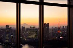 Mt.Fuji and Tokyo tower