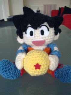 K's toy adventure.: Dragon Ball Amigurumi - Son Goku - Visit now for 3D Dragon Ball Z compression shirts now on sale! #dragonball #dbz #dragonballsuper