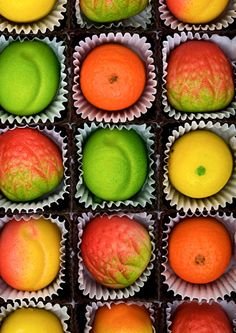 Anything Marzipan, made marzipan candy with my grandmother over 50 years ago.  It was wonderful...