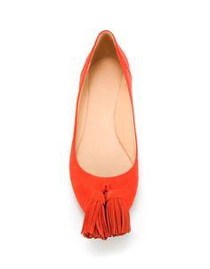 POMPOM BALLERINA - Shoes - Woman - ZARA United States