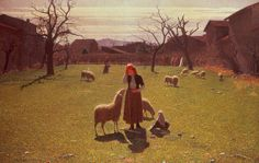 Giuseppe Pellizza da Volpedo (1868-1907). Italian painter. Deluded+hopes