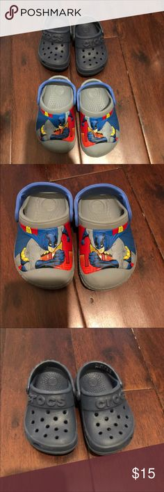 Crocs baby boy shoes Two pairs for sale. Very good condition. Size 5. CROCS Shoes