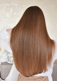 Golden Highlights Brown Hair, Golden Brown Hair Color, Brown Hair Balayage, Brown Blonde Hair, Korean Hair Color, Light Hair, Beautiful Long Hair, Smooth Hair, Dream Hair