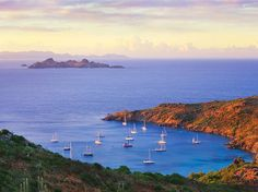 Sail away to St. Barts!