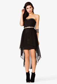 Layer Strapless Scuba Dress #Forever21 #Dresses #SpecialOccasion