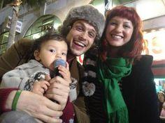 Matthew, Laura and his baby