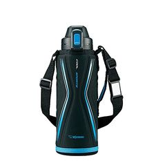 """Zojirushi stainless cool bottle """"TUFF"""" (1.03L) Blue Black SD-EB10-BB -- Learn more by visiting the image link."""