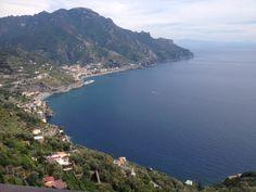 View from Ravello - Amalfi Coast - Private enjoy tour www.enjoysorrentolimo.com