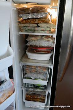 Baby freezer meals