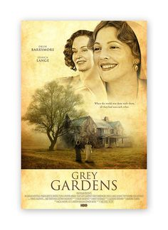 Grey Gardens, one of my favorite films Grey Gardens Movie, Tv Land, Love Movie, Film Posters, Film Movie, Shades Of Grey, Movies And Tv Shows, The Dreamers, Cinema