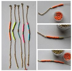 Pandahall.com offers you jewelry  making ideas and easy picture instruction to help you to finish this chain bracelet.