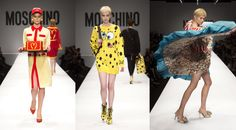 Jeremy Scott designs his first collection for Moschino and declares: THIS IS THE NEW FLAVOR!