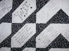 Blocks and more blocks. | Signature quilts, Family reunions and ... : wedding signature quilt - Adamdwight.com