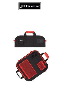 CHEF'S SMALL KNIFE BAG - BLACK/RED Hospitality, How To Wear, Bags, Handbags, Bag, Totes, Hand Bags