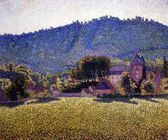 The Athenaeum - Le Pré Comblat, Le Chateau Cantal (Paul Signac - )