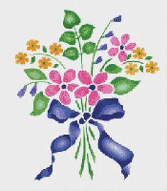 Ramo de flores rosa cruz puntada patrón flor Floral Wall Art  PATRÓN DE PDF SÓLO    Tela: Aida 14 de la cuenta Contado en punto de Cruz Puntos: 175 x 200 Tamaño: 12.50 x 14,29 pulgadas o 31.75 x 36.29 cm Colores: DMC Cuenta: 71 Plantilla    Referencia XSTCH-00239  Usted recibirá este patrón como descarga digital y necesita Adobe Acrobat para visualizarlo. Adobe Acrobat Reader se puede descargar en www.adobe.com.  Todos los patrones son generados por computadora y recibe el patrón solamente…