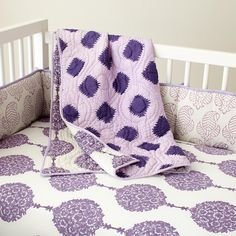 bedding.. if i do purple and gray..