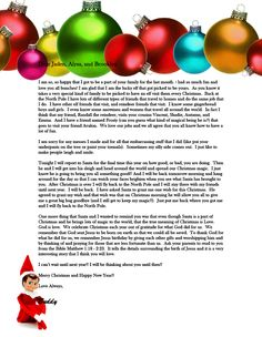 What a Magical Farewell letter from our Elf on the shelf. <3