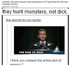 supernatural tumblr text posts - Google Search