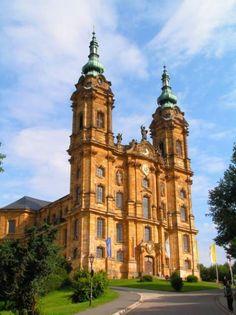 Basilika Vierzehnheiligen - my parents got married there
