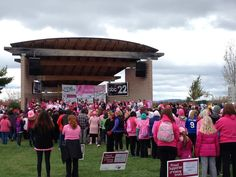 Great turnout for the walk! Breast Cancer Walk, Walking, How To Make, Jogging, Walks