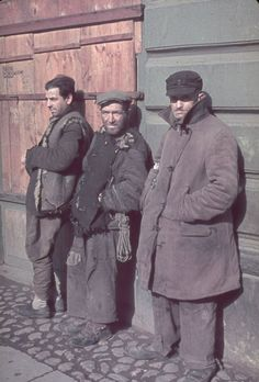 The Brink of Oblivion: Color Photos From Nazi-Occupied Poland, 1939-1940 | LIFE.com. Warsaw, German-occupied Poland, 1940.