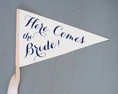 Handmade Wedding Signs Baby Banners & Brooch by TheRitzyRose