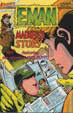 E-Man Comics (1983 First) 24 __UN__