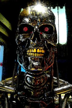 Hey guys! Here is a look at the finished, coloured Terminator T-800 piece I posted the pencil and ink sketch of a little while back. Hope you like it! Join me on www.facebook.com/theartofchristophe...