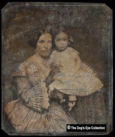 Mother & Young Daughter: Daguerreotype c.1850s | Flickr - Photo Sharing!