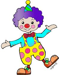 clipart laughing clown with flowers royalty free vector design rh pinterest com clown clipart free carnival clown clipart free
