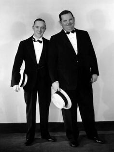 Stan and Ollie, great photo of them.