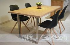 Build your own table! DIY – Esstisch selbst bauen http://meineschokoladenseite.de/diy-esstisch-selber-bauen/#more-200