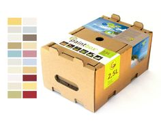 ab 9,99€/l Öko Biofarbe Wandfarbe Deckenfarbe Möbelfarbe Allergiker Paintbox