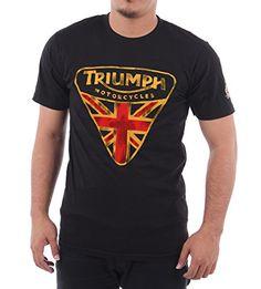 Vintage Triumph Motorcycles T-shirt #Cafe racers #Triumph