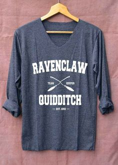 Gryffindor Shirt Quidditch Harry Potter Shirts Long Sleeve Unisex Adults Size S M L by topsfreeday on Etsy Harry Potter Quidditch, Harry Potter Shirts, Ravenclaw Quidditch, Hogwarts Alumni, Harry Potter Outfits, Harry Potter Love, Harry Potter Clothing, Harry Potter Fashion, Ravenclaw Logo