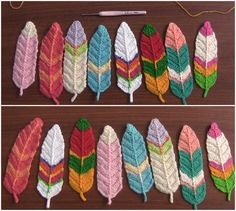 Reversible Feathers Crochet Tutorial – Craft-Addicts