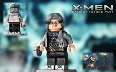 LEGO X-Men Days of Future Past : Quicksilver by MGF Customs/Reviews Marvel Dc, Lego Marvel, Lego Custom Minifigures, Lego Minifigs, Spiderman, Batman, Age Of Ultron, Thor, Captain America