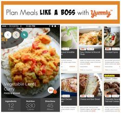 Plan Meals Like a Boss with Yummly