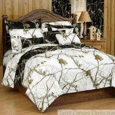 camo queen size comforter | AP Black Camo 3 Piece Queen Comforter Set - Camouflage Bedding from ...