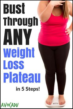 Bust Through ANY Weight Loss Plateau in 5 Steps! | Avocadu.com