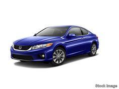 2013 Honda Accord 2D EXL V6