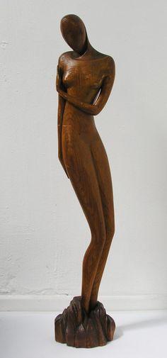 Adam Dabrowski Figurative Sculpture - Figure