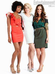 Annie Ilonzeh, Rachel Taylor, Minka Kelly.